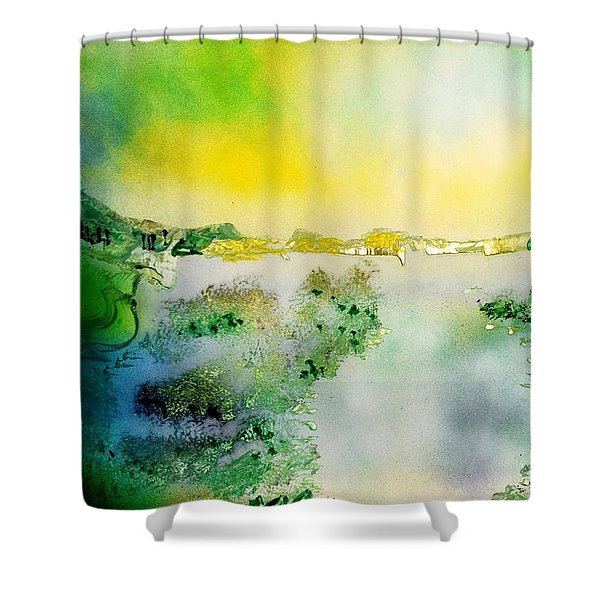Lake Of Transparency  Shower Curtain