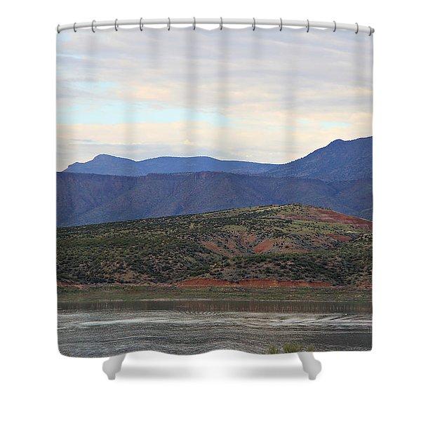 Lake Roosevelt 1 Shower Curtain