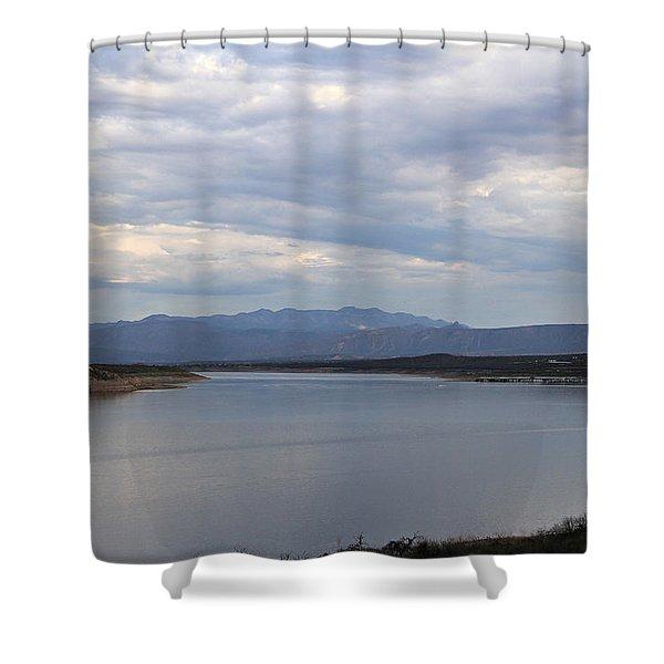 Lake Roosevelt 2 Shower Curtain