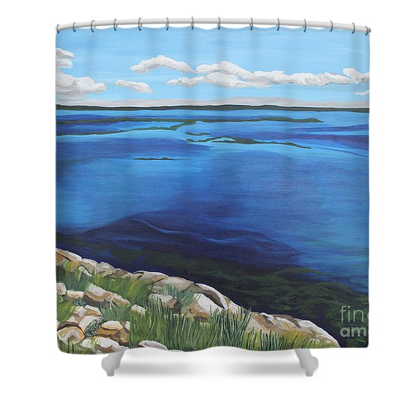 Lake Toho Shower Curtain