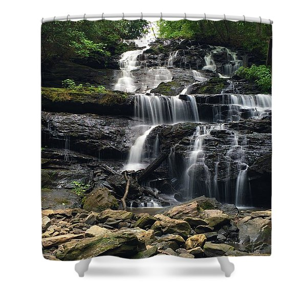 Lake Trahlyta Falls Shower Curtain