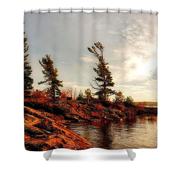 Lakeshore Shower Curtain