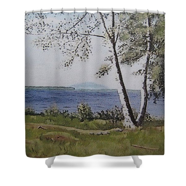 Lakeview Landing Shower Curtain