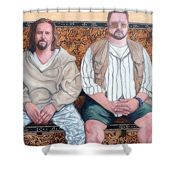 Lament For Donny Shower Curtain
