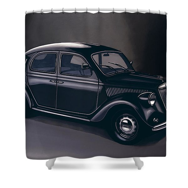 Lancia Ardea 1939 Painting Shower Curtain