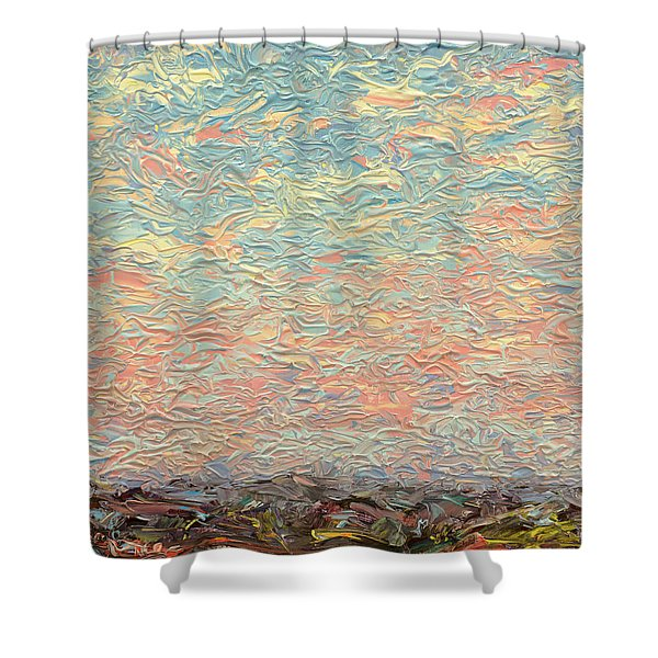 Land And Sky 3 Shower Curtain