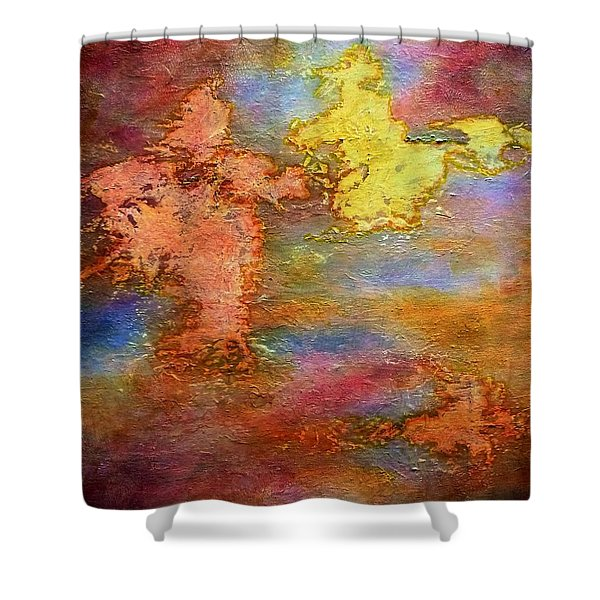 Land And Sky Shower Curtain