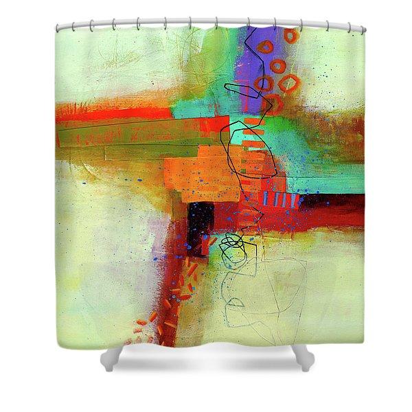Land Line #1 Shower Curtain