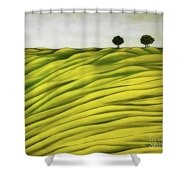 Land Of Breather Shower Curtain