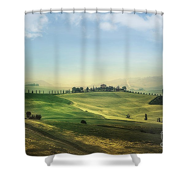 Land Of Dawn Shower Curtain