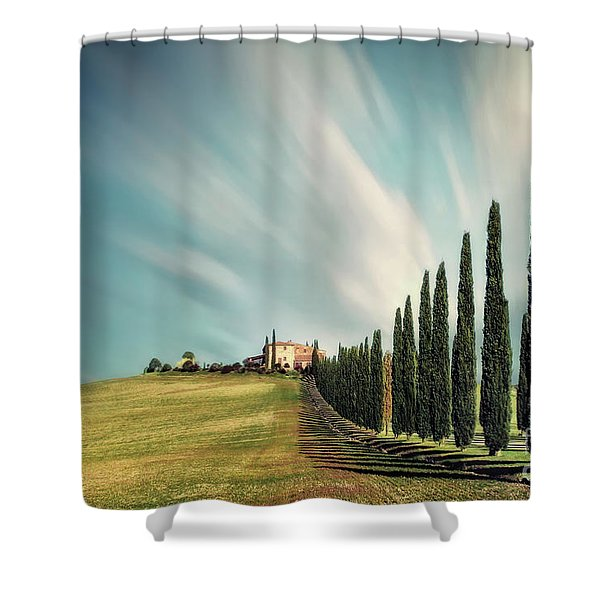 Land Of Dreams Shower Curtain