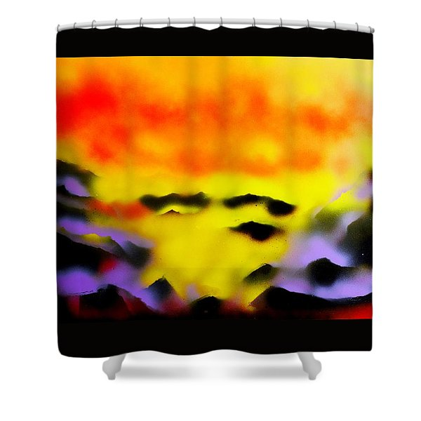 Land Of Heavens Shower Curtain