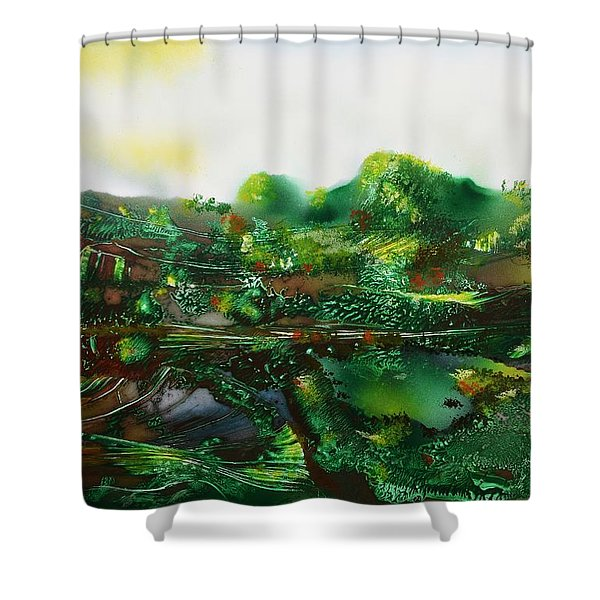 Land Of The Trolls Shower Curtain
