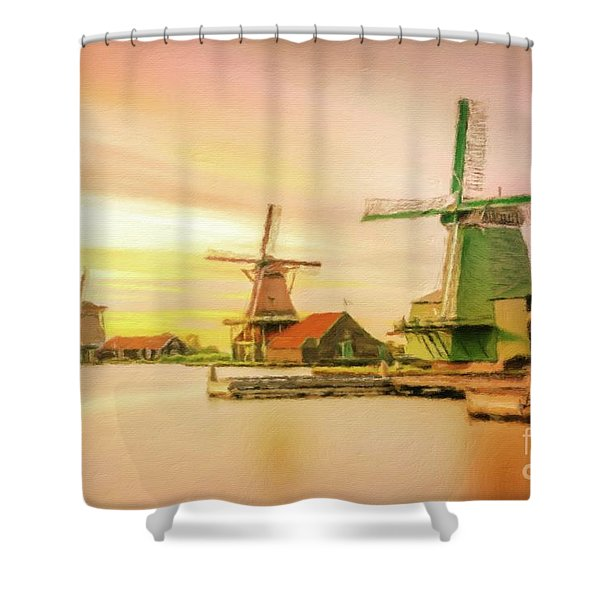Land Of Wind Shower Curtain