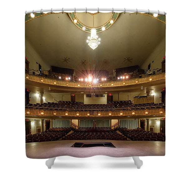 Landers Theatre Shower Curtain