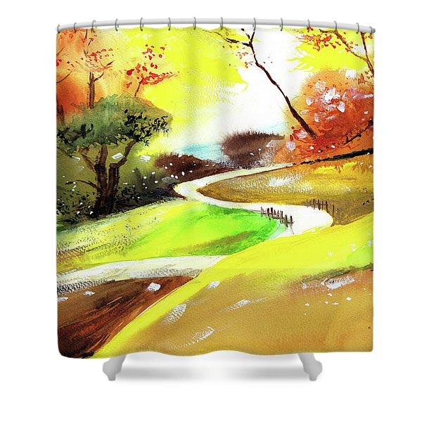 Landscape 6 Shower Curtain