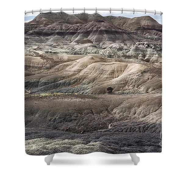 Landscape With Many Colors Shower Curtain