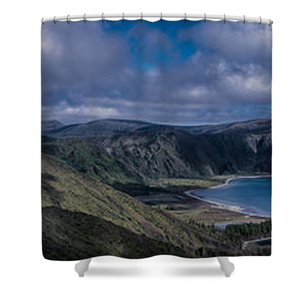 Landscapespanoramas007 Shower Curtain