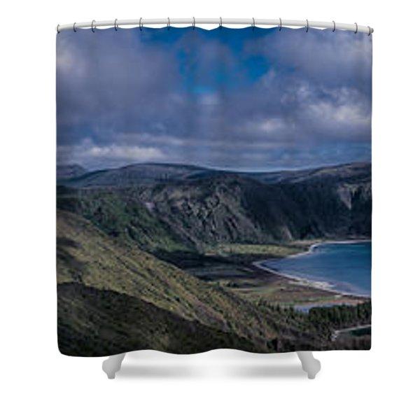 Landscapespanoramas007 Shower Curtain