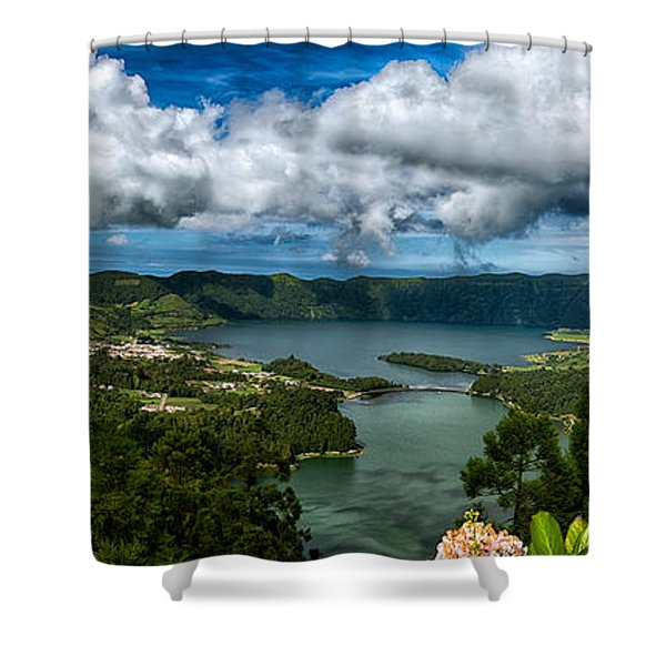 Landscapespanoramas015 Shower Curtain