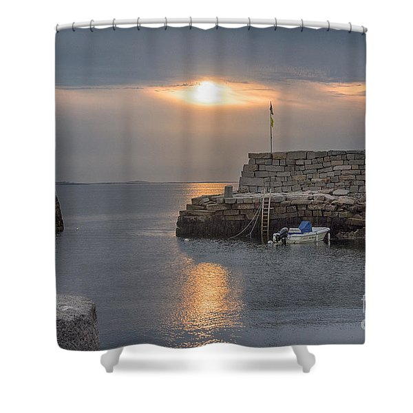 Lanesville Sunset Shower Curtain