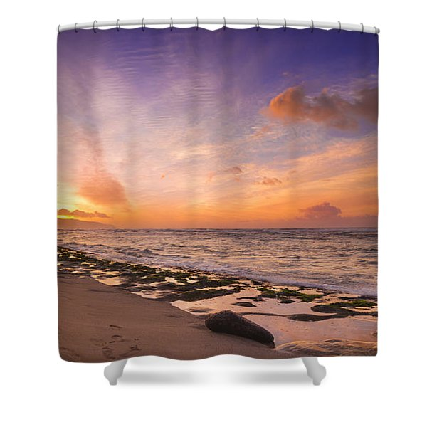 Laniakea Sunset Shower Curtain