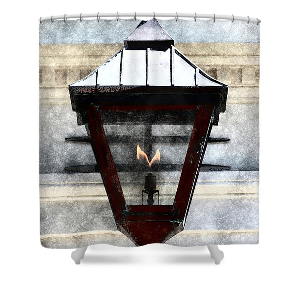 Lantern 13 Shower Curtain