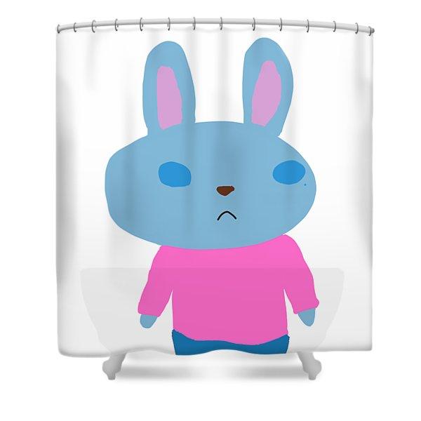 Lapin-kun Shower Curtain