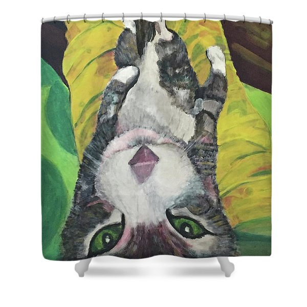 Laptop Shower Curtain