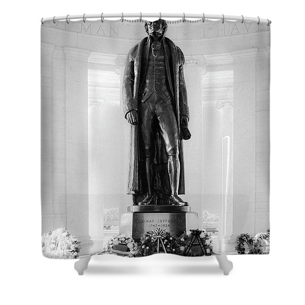 Larger Than Life  Shower Curtain
