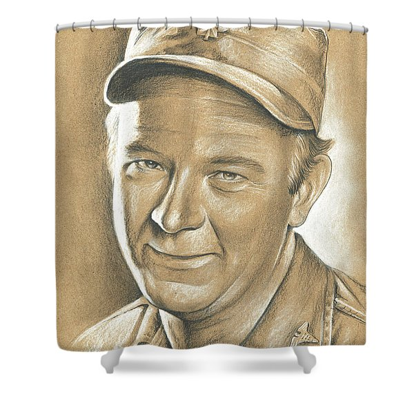 Larry Linville Shower Curtain
