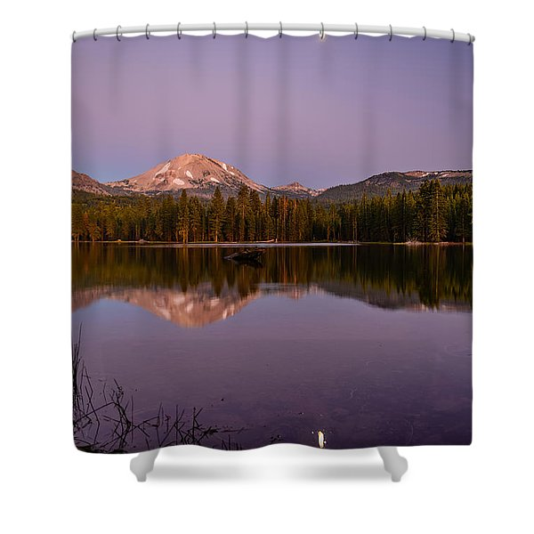 Lassen Peak Shower Curtain