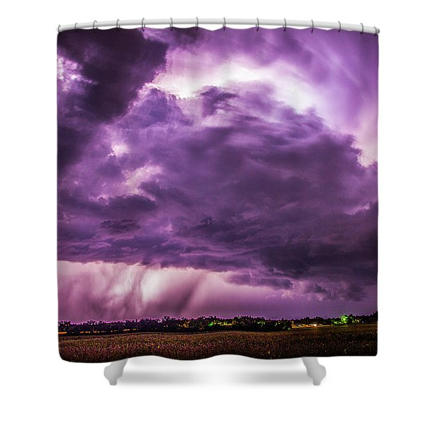 Last Chace Lightning For 2017 006 Shower Curtain