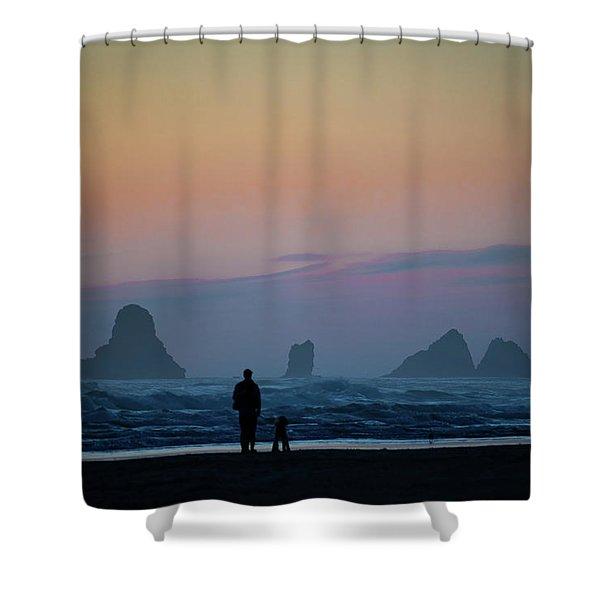 Last Colors Shower Curtain