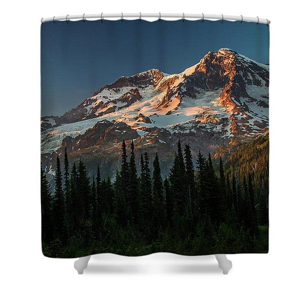 Last Light-2 Shower Curtain