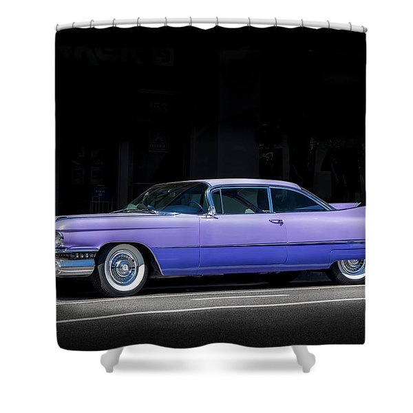 Last Of The Big Fins Shower Curtain