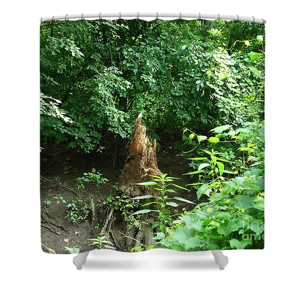 Last One Standing Shower Curtain