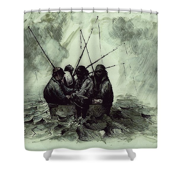 Last Time Out Shower Curtain