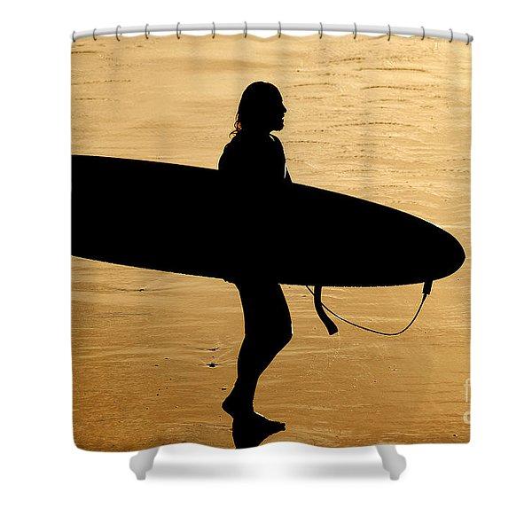 Last Wave Shower Curtain