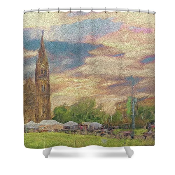 Lasting Impression - Prague Shower Curtain