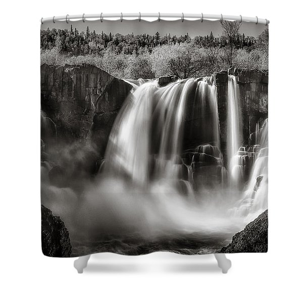 Late Afternoon At The High Falls Shower Curtain