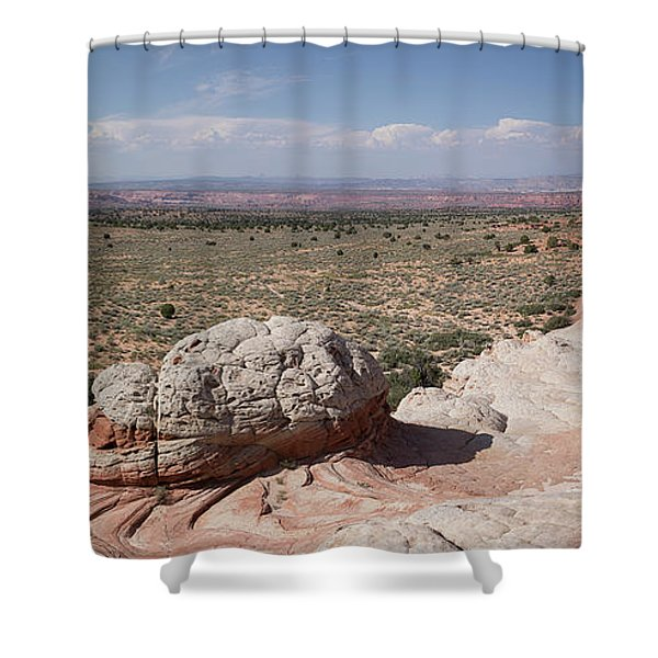 Late Afternoon At White Pocket Shower Curtain