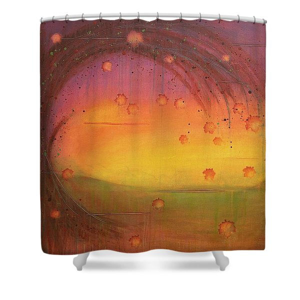 Late Fall - Tree Series Shower Curtain