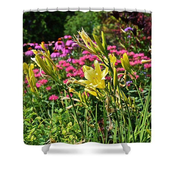 Late July Garden 1 Shower Curtain