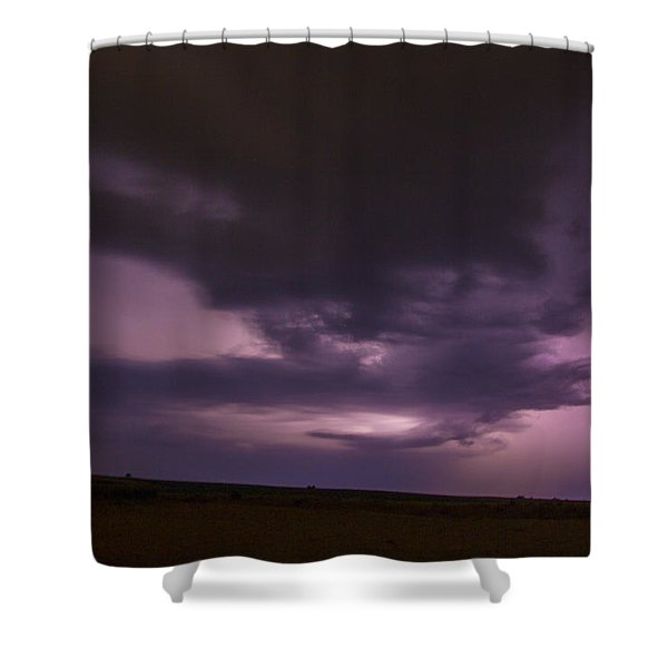 Late July Storm Chasing 028 Shower Curtain