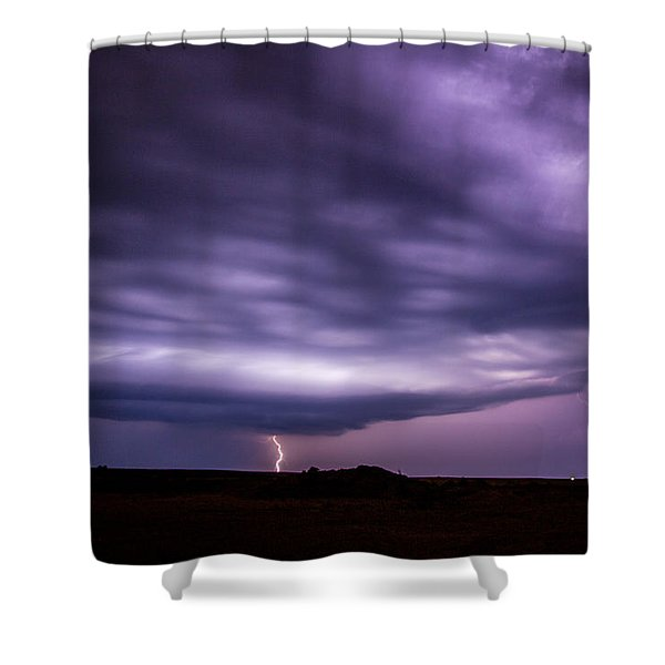 Late July Storm Chasing 033 Shower Curtain