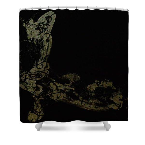 Late Night Shower Curtain