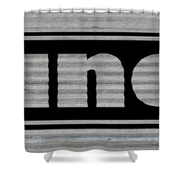 Laundry On Metal Shower Curtain