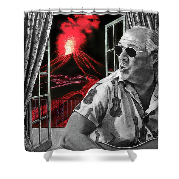 Lava Me Now Or Lava Me Not Shower Curtain
