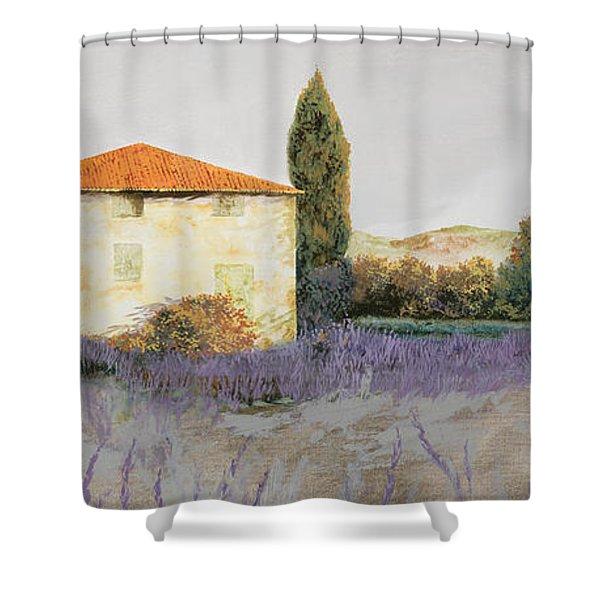 Lavanda Grassa Shower Curtain